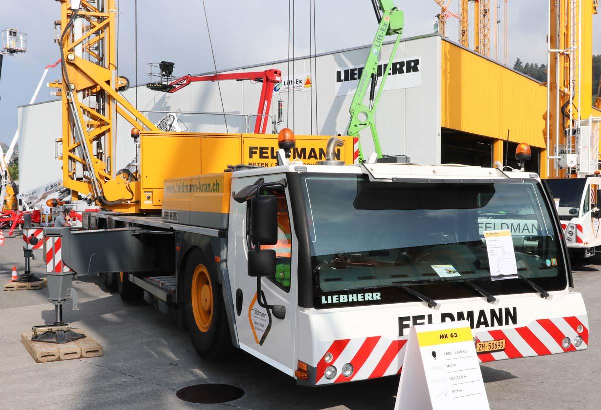 Visit to Feldmann Pneukran + Transport AG :: www trucks
