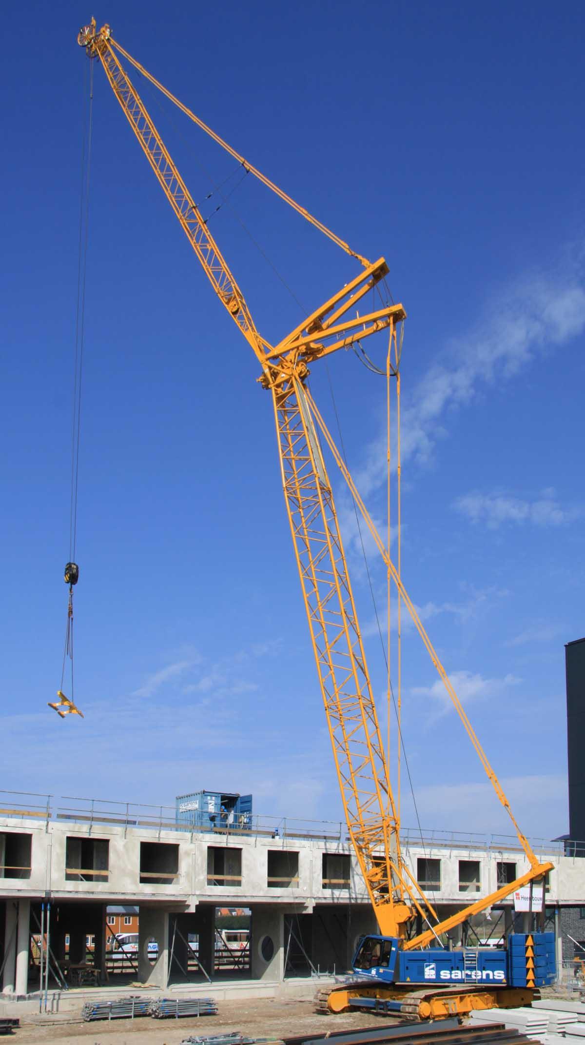 Liebherr Lr 1160 Sarens Www Trucks Cranes Nl