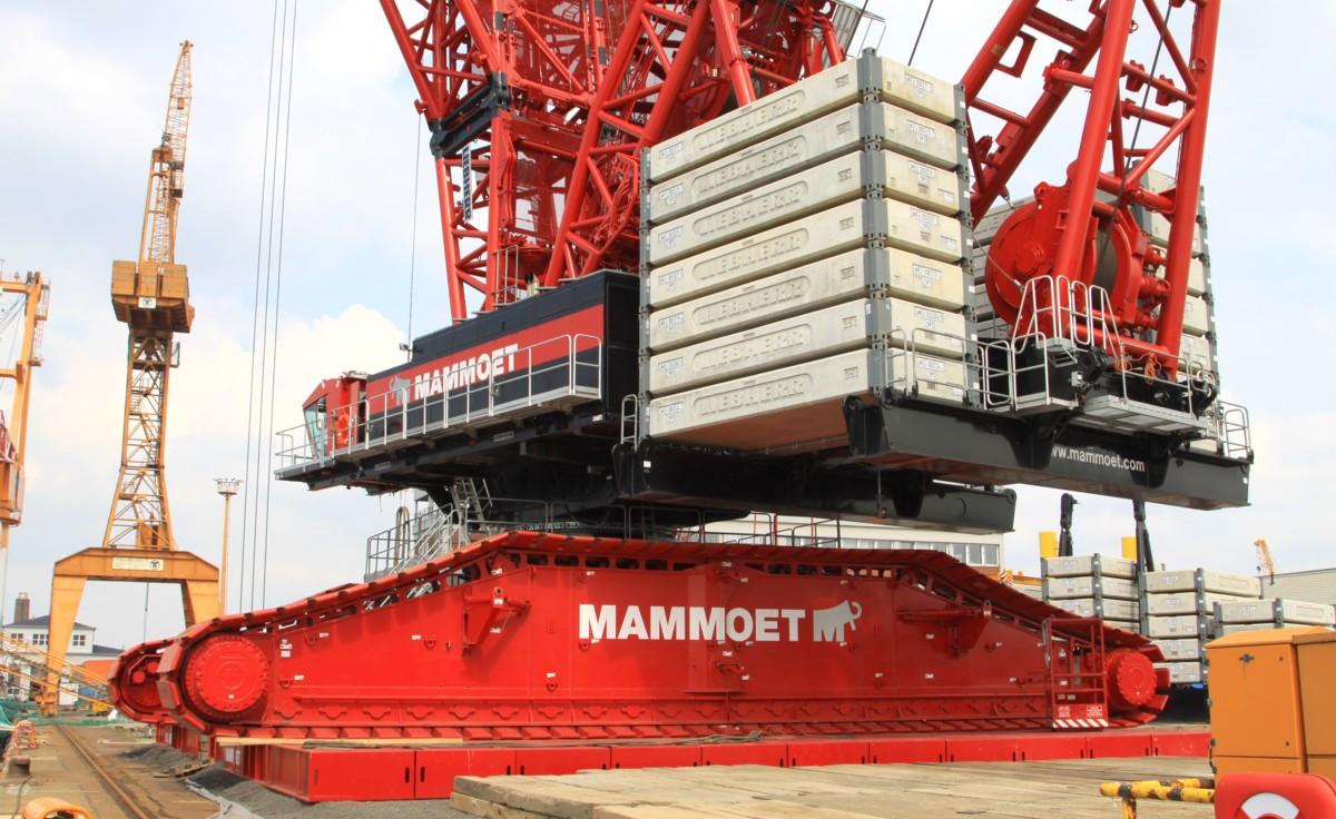 Liebherr Lr 13000 Mammoet Www Trucks Cranes Nl