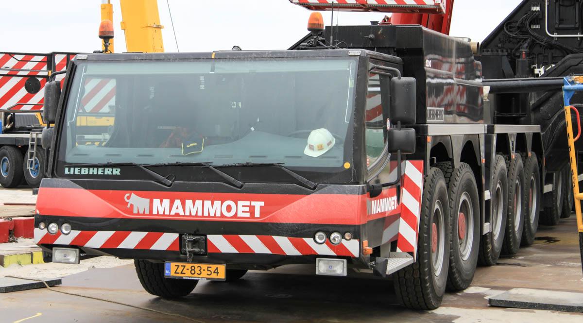 Liebherr LTM 11200-9 1 - Mammoet :: www trucks-cranes nl