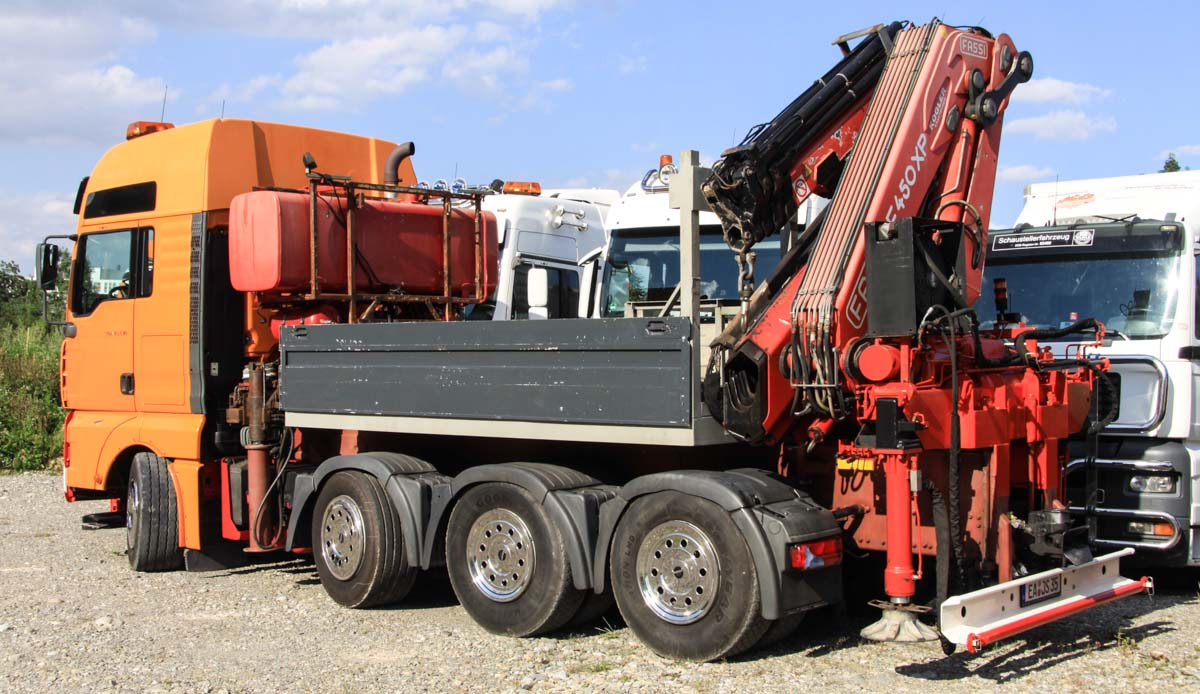 MAN TGA 41 530 - Steffen & Sohn :: www trucks-cranes nl
