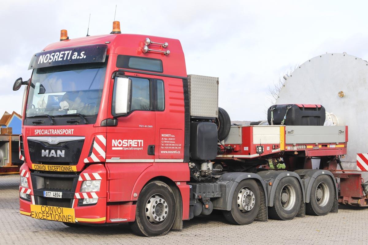 MAN TGX 41 560 - Nosreti :: www trucks-cranes nl
