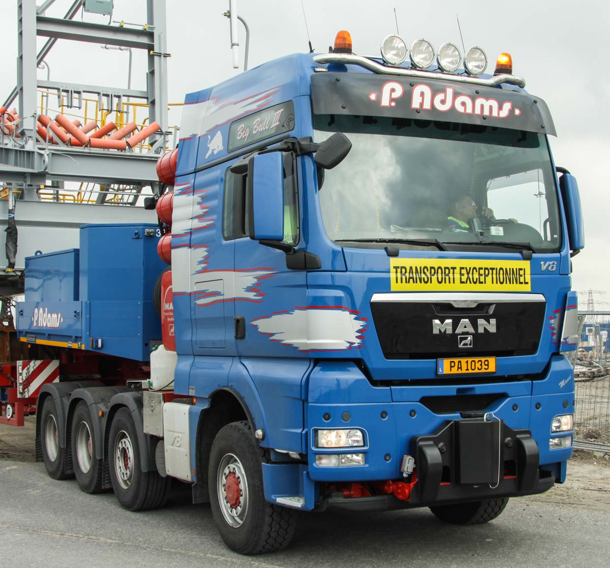 adams transport